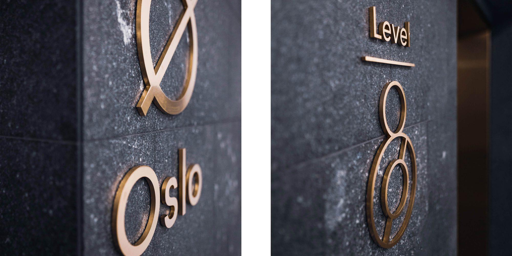 住宅公寓大楼标识设计©bleux