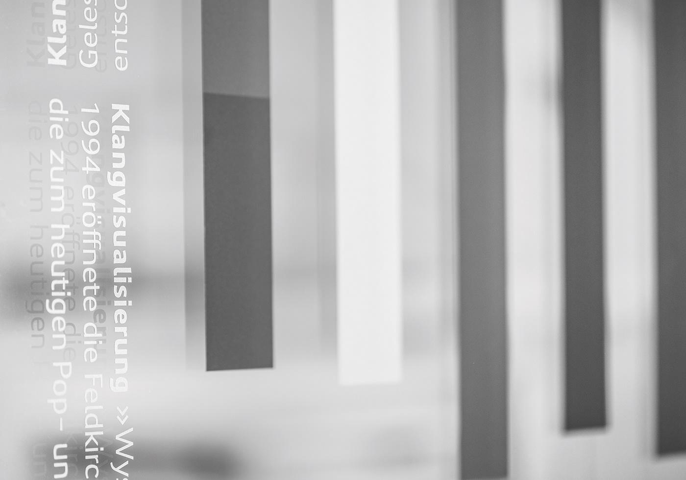 费尔德基希市文化中心导视设计©Sägenvier DesignKommunikation