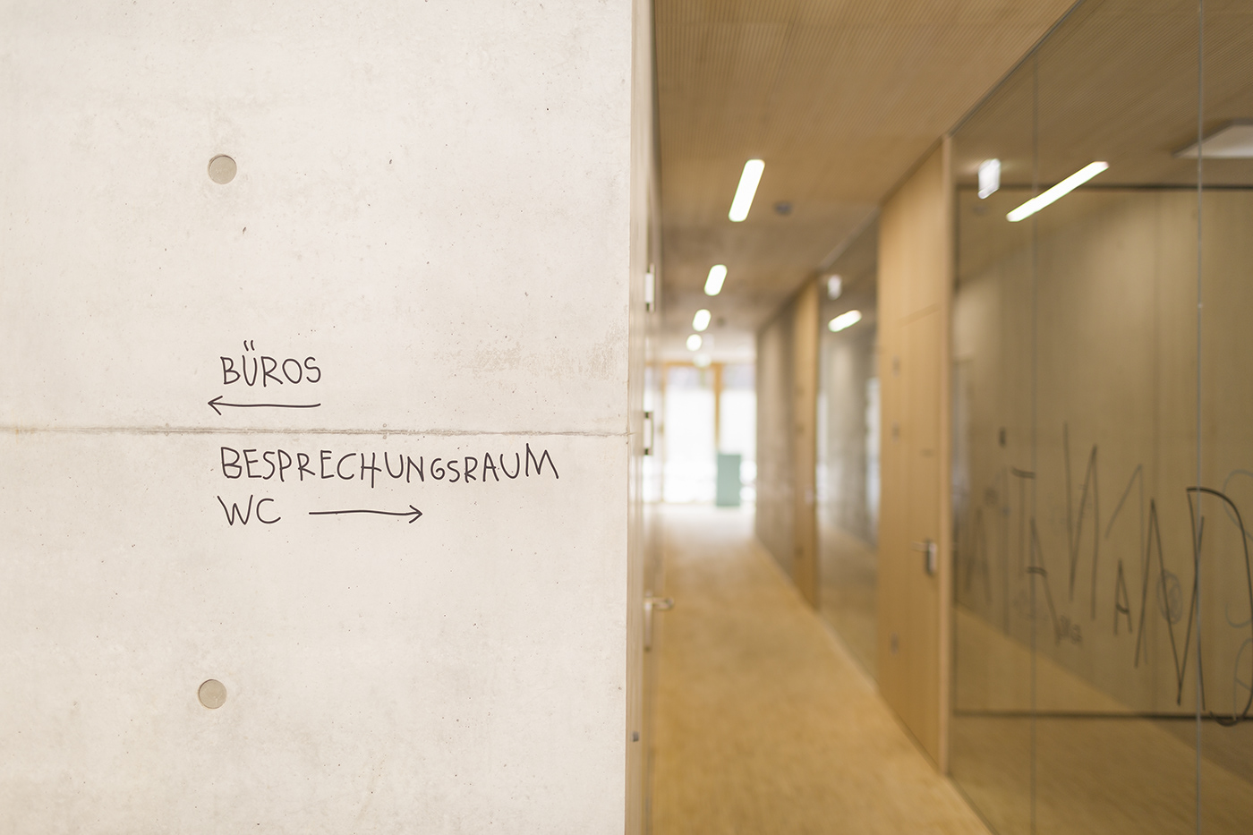 Marktstrasse 幼儿园标识设计 © Sägenvier DesignKommunikation