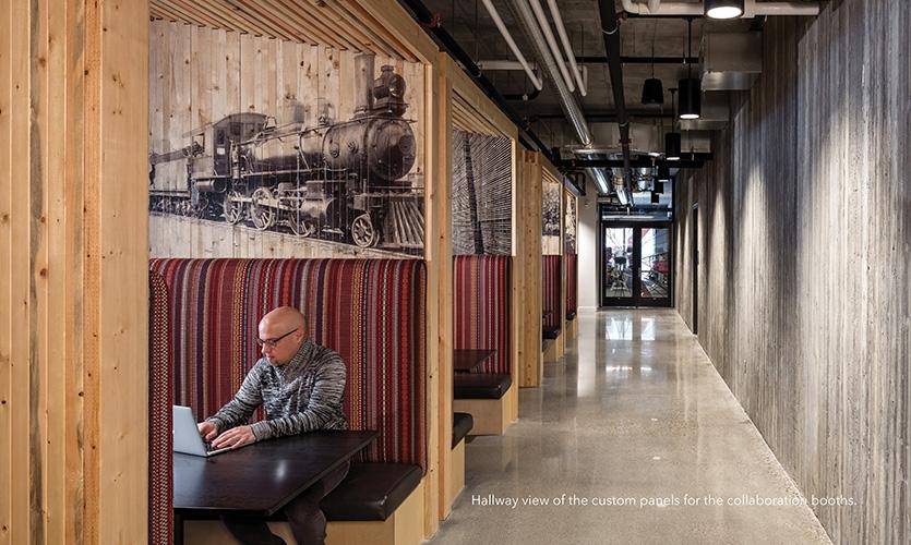 明尼阿波利斯T3场所构建和标识设计 ©RSP Architects