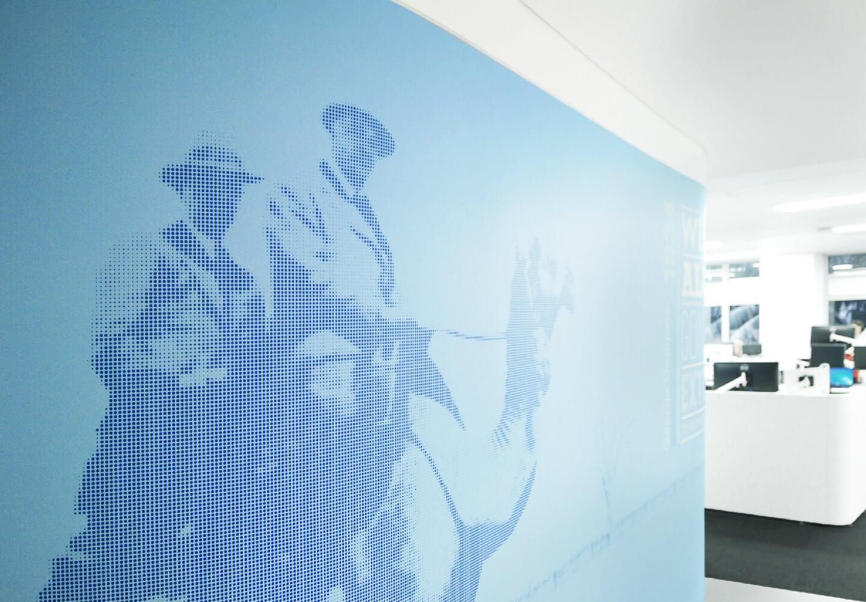 AMP办公楼标识设计©Brandculture
