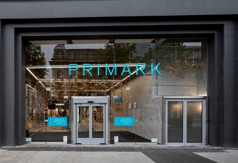 安特卫普Primark商店标识设计©HMKM