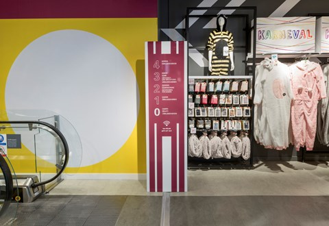 Primark商店标识设计©HMKM