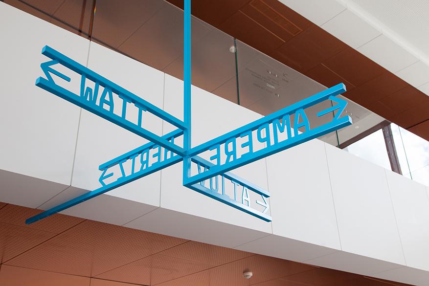 法国国家电网办公楼标识设计©bureau205