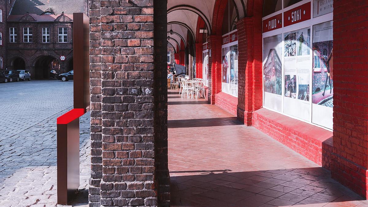 波兰卡托维兹Nikiszowiec景区导视设计 © Blank Studio