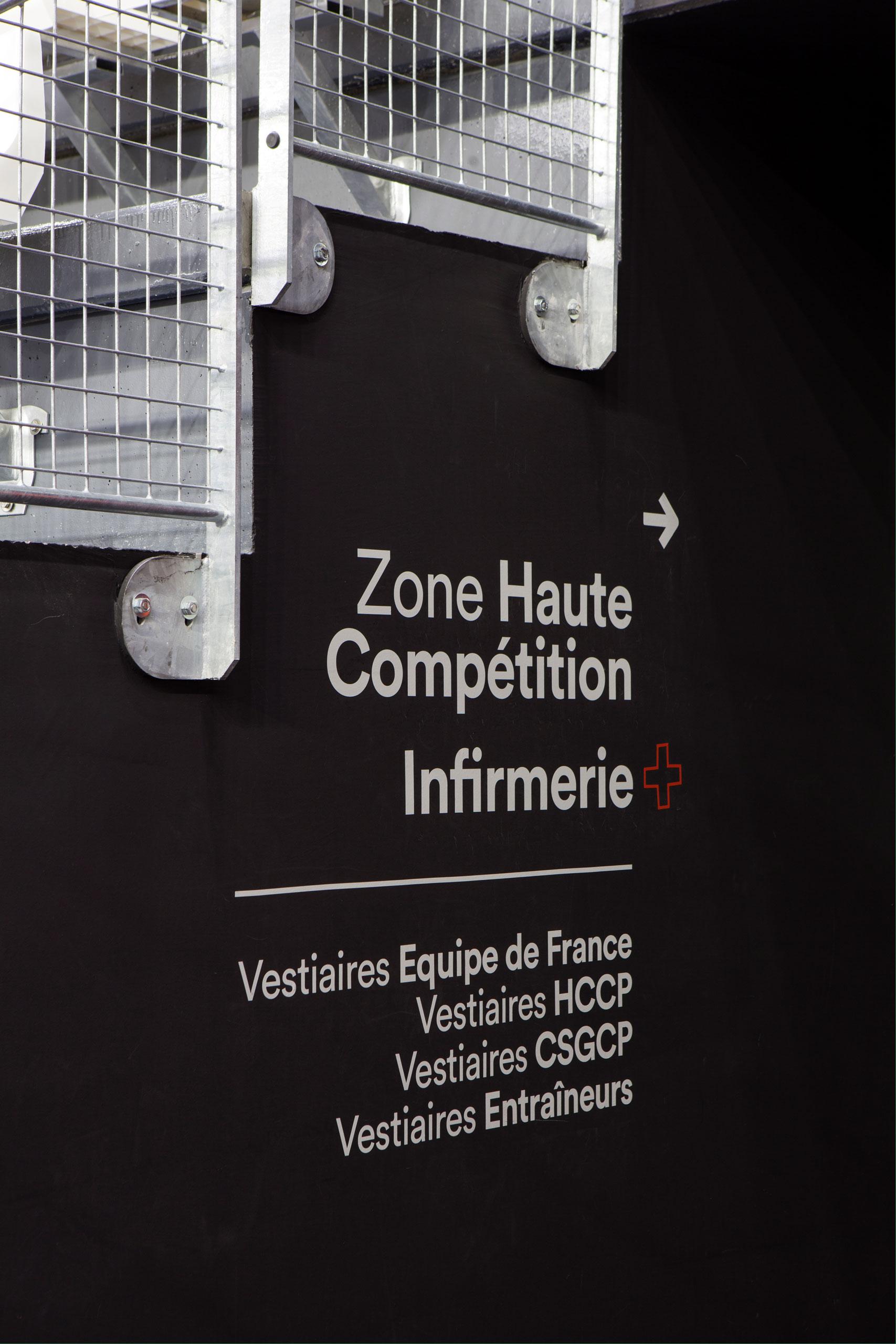 法国Aren'Ice冰球场标识及图形设计  © CL DESIGN