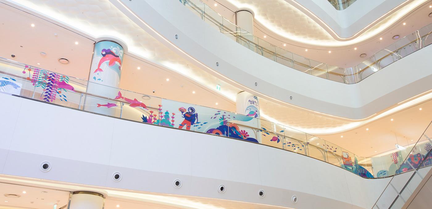 乐天世界购物中心_ 2018年夏季活动 © Shinyoung Kim