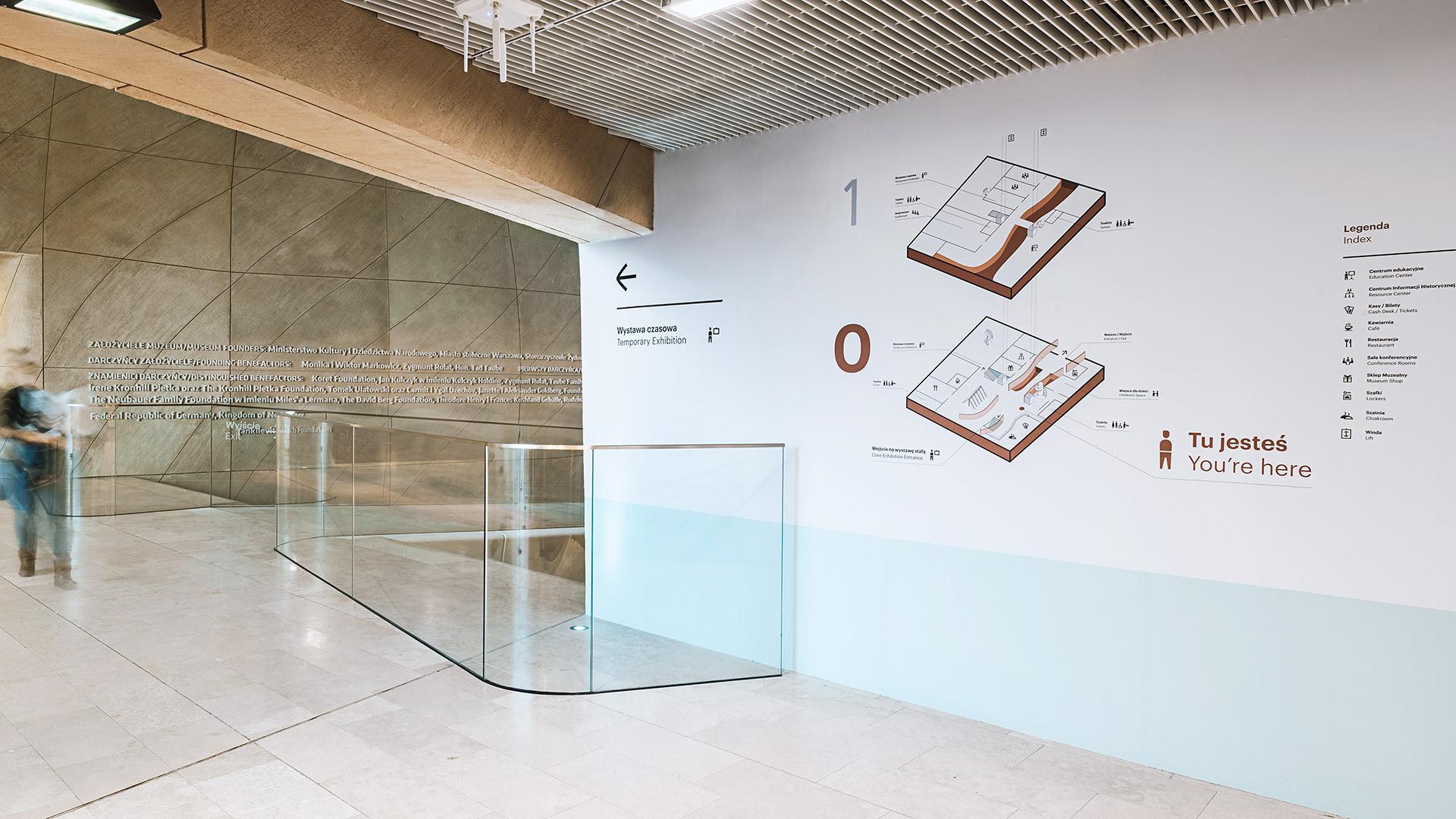 POLIN博物馆标识设计 © Blank Studio