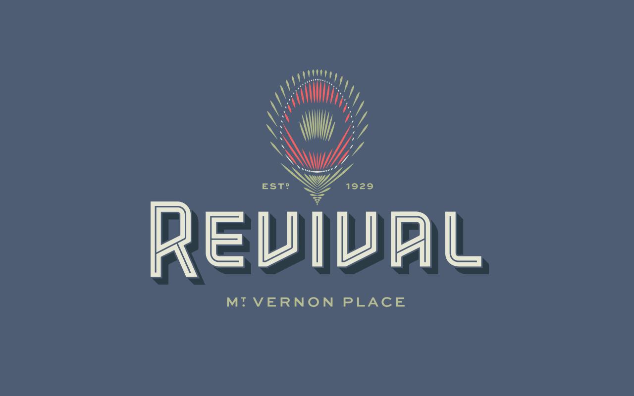 Revival精品艺术酒店品牌与标识 © YountsDesign
