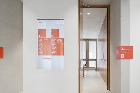 w&w-campus总部标识设计 © büro uebele