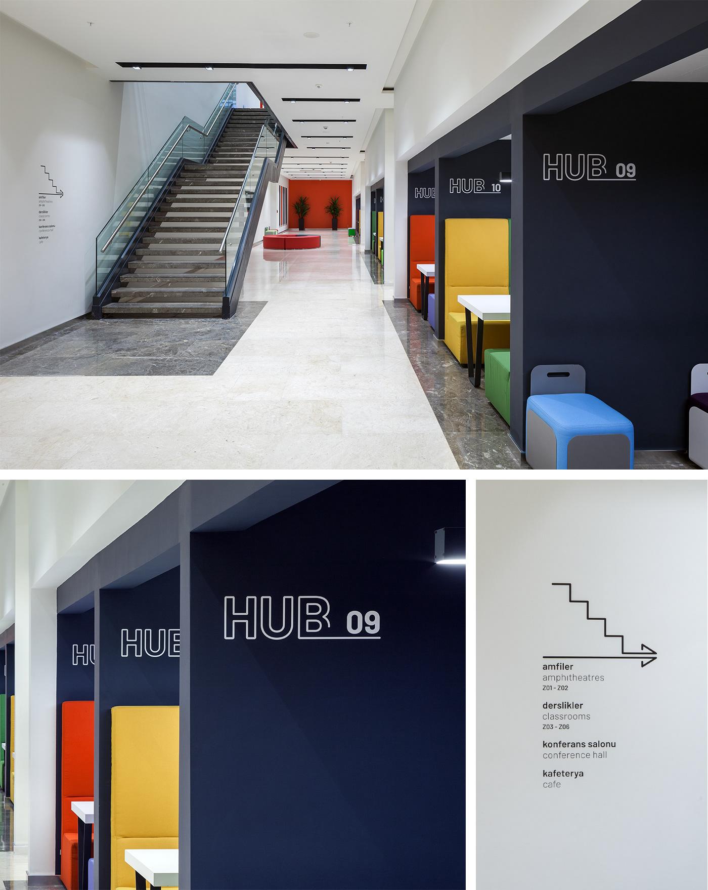 伊斯坦布尔文化大学标识设计 © pompaa
