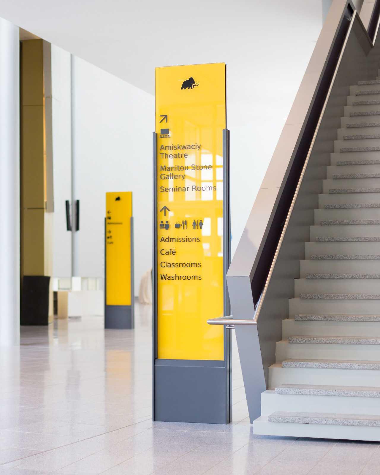 皇家艾伯塔博物馆标识设计,博物馆导视 © cygnus