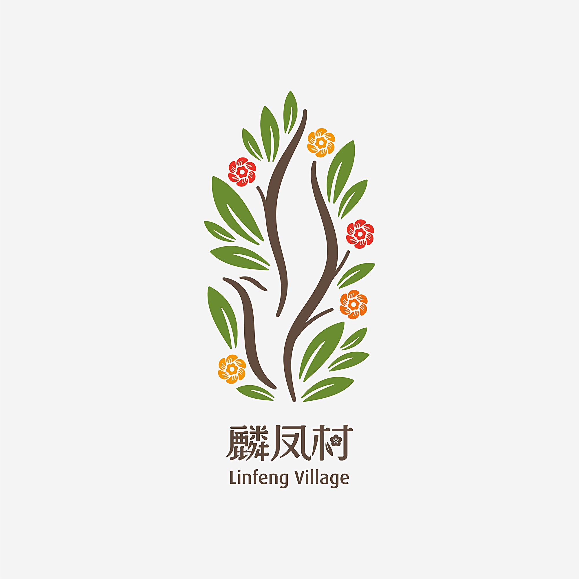 麟凤村视觉形象及标识设计 © 良相设计
