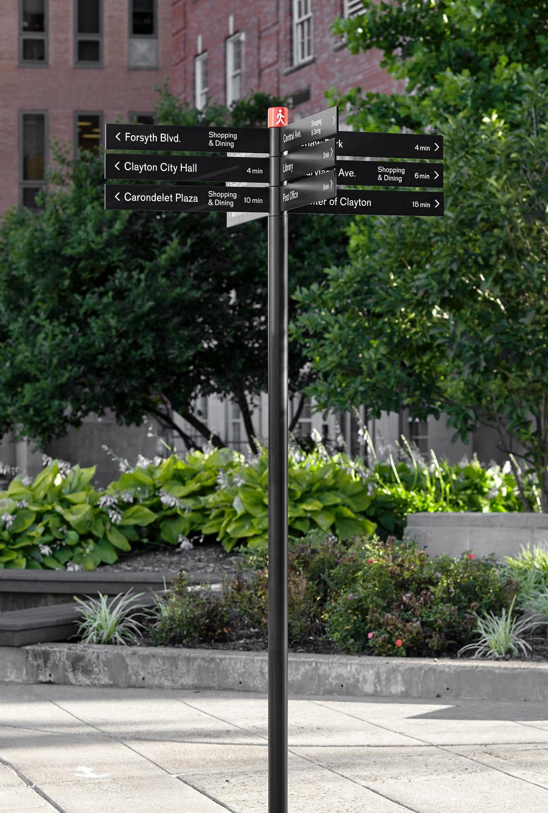 Clayton城市导向设计 © kikuobata