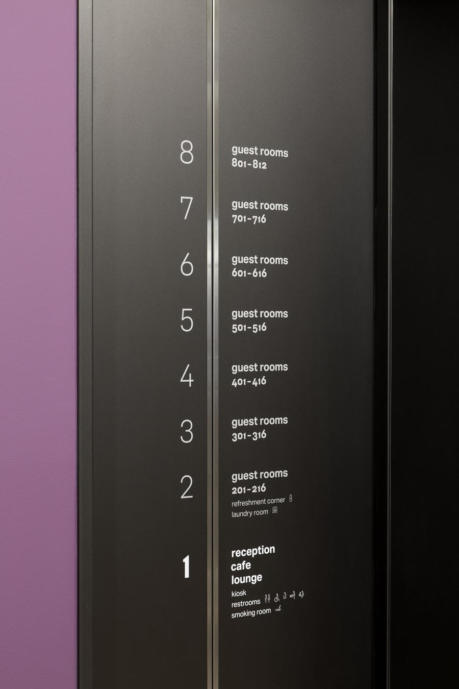 新宿定制酒店bespoke hotel shinjuku,品牌设计,标识设计   © artless Inc.