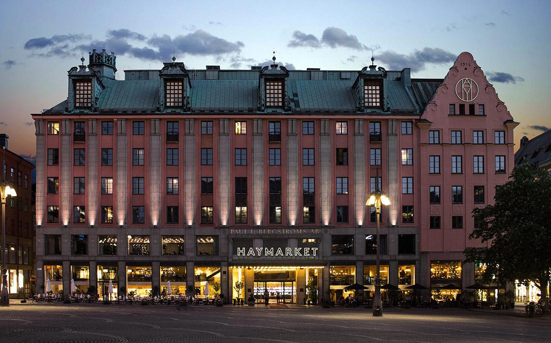 Haymarket酒店品牌及导视系统设计 © 25ah
