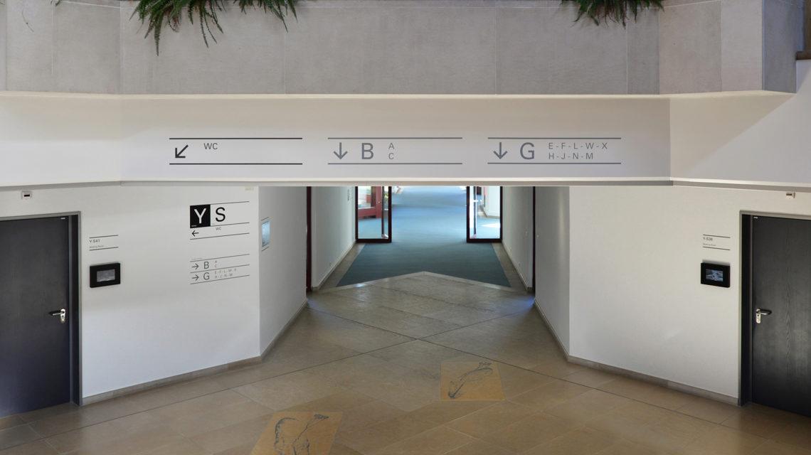 雀巢研究中心标识系统设计©CCHE
