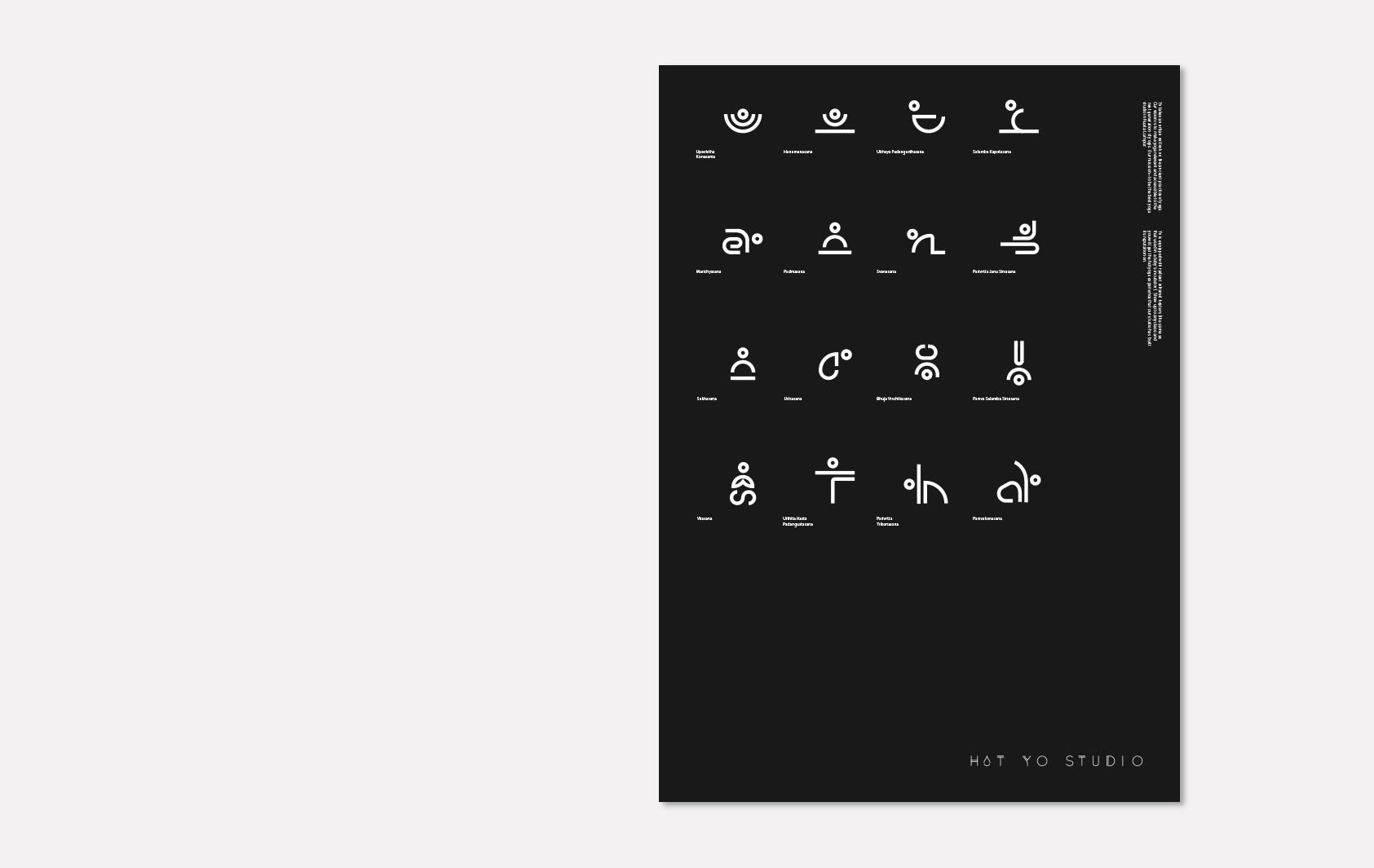 瑜伽工作室标识设计© Nusae